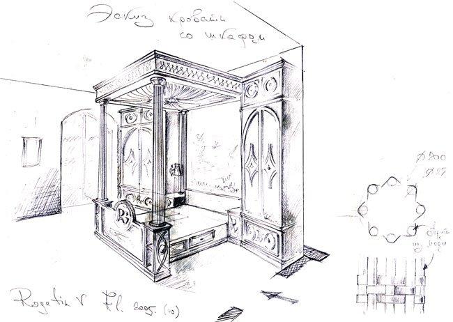 Vasili rogatin architetto designer for Armadio dwg